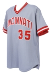 1991 Stan Williams Cincinnati Reds All Star Game Jersey (MEARS A10)