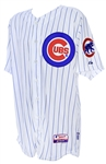 2014 Jose Veras Chicago Cubs Game Worn Home Jersey (MEARS LOA)