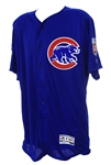 2016 Gary Jones Chicago Cubs Signed Spring Training Jersey (MEARS LOA/JSA/MLB Hologram)