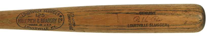 1965-68 Pee Wee Reese Brooklyn Dodgers H&B Louisville Slugger Post Career Pro Stock Bat (MEARS LOA)