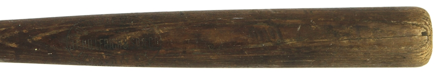 1911-16 JF Hillerich & Son Co. Louisville Slugger Professional Model Blank Barrel Bat (MEARS LOA)