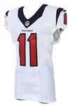 2016 Jaelen Strong Houston Texans Game Worn Road Jersey (MEARS LOA)