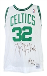1989-90 Kevin McHale Boston Celtics Signed Game Worn Home Jersey (MEARS A10/JSA)