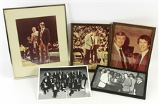 1970s-80s John Killilea Don Nelson Tom Heinsohn Photo Collection - Lot of 5 w/ 4 Framed