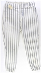 1978 Reggie Jackson New York Yankees Signed Game Worn Home Uniform Pants (MEARS LOA/JSA)