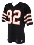 1980s Parker #82 Game Worn Wilson Football Jersey (MEARS LOA)