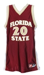 1994-96 LaMarr Greer Florida State Seminoles Game Worn Road Jersey (MEARS LOA)