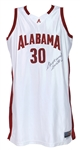 2005-08 Stephany Smith Alabama Crimson Tide Signed Basketball Jersey (JSA)