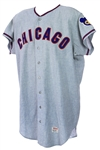 1967 Dick Radatz/Pete Mikkelsen Chicago Cubs Game Worn Road Jersey (MEARS A8)