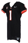 2008-10 Jacquizz Rodgers Oregon State Beavers Home Jersey (MEARS LOA)