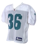 2011 Miami Dolphins #36 Practice Jersey (MEARS LOA)