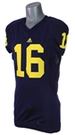 2008 Roy Roundtree Michigan Wolverines Jersey (MEARS LOA)