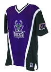 1996-97 Milwaukee Bucks Shooting Shirt (MEARS LOA)