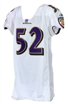 2001 Ray Lewis Baltimore Raves Signed Road Jersey (MEARS LOA/*JSA*)