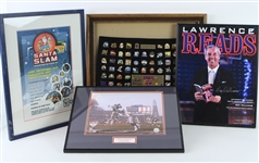 1990s-2010s Framed Collection - Lot of 11 w/ Signed Items, Movie Posters, Photos & More (JSA)