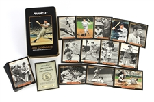 1993 Joe DiMaggio New York Yankees Pinnacle 30 Card Complete Set w/ Collectors Tin
