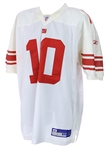 2008 Eli Manning New York Giants Signed Jersey (clubhouse signature)