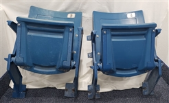 1960-1990 Comiskey Park Chicago White Sox Stadium Chairs (2)