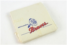 1953-65 Milwaukee Braves Napkins - Pack of Approximately 20