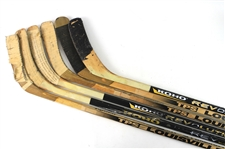 1990s-2000s Game Used Hockey Stick Collection - Lot of 13 (MEARS LOA)