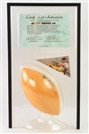 1995 Brett Favre Green Bay Packers Signed Foamation Cheese Football Display (JSA) 217/250