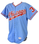 1975 Jim Otten Chicago White Sox Game Worn Road Jersey (MEARS A10)