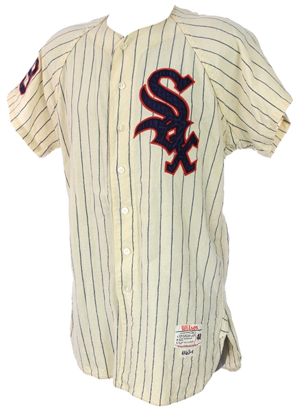 1963 Frank Kreutzer Chicago White Sox Home Jersey (MEARS LOA)