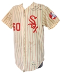 1972 Bill Melton Chicago White Sox Signed Game Worn Home Jersey (MEARS A7/JSA)