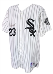 1993 Robin Ventura Chicago White Sox Signed Game Worn Home Jersey (MEARS A10/JSA)