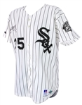 1993 Frank Thomas Chicago White Sox Signed Game Worn Home Jersey (MEARS A10/JSA)