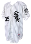 2000 Frank Thomas Chicago White Sox Signed Game Worn Home Jersey (MEARS A10/JSA)