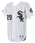 1993 Jack McDowell Chicago White Sox Signed Game Worn Home Jersey (MEARS A10/JSA) Cy Young Season