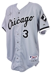 2000 Harold Baines Chicago White Sox Signed Game Worn Road Jersey (MEARS A10/JSA)