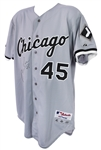 2000 Carlos Lee Chicago White Sox Signed Game Worn Road Jersey (MEARS LOA/JSA)
