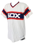 1983 Floyd Bannister Chicago White Sox Game Worn Home Jersey (MEARS A8)