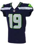 2017 (October 29) Tanner McEvoy Seattle Seahawks Game Worn Home Jersey (MEARS A10/Team COA)