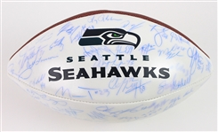 2004 Seattle Seahawks Team Signed ONFL Tagliabue Autograph Panel Football w/ 66 Signatures Including Jerry Rice, Walter Jones, Shaun Alexander & More (Beckett Authenticaiton)