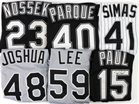2000 Chicago White Sox Game Worn Jerseys - Lot of 6 w/ Man Soo Lee Signed, Josh Paul Signed, Von Joshua & More (MEARS LOA/JSA)