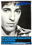 "1980 Bruce Springsteen The River 24"" x 35"" Madison Square Garden Tour Poster"