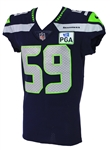 2018 (December 23) Jacob Martin Seattle Seahawks Game Worn Home Jersey (MEARS A10/Team COA)