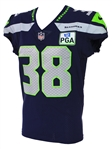 2018 (October 7) Tre Madden Seattle Seahawks Game Worn Home Jersey (MEARS A10/Team COA)