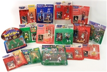 1990-2010 Baseball Football Basketball Starting Lineup & Sports Impressions MOC & MIB Figure Collection - Lot of 32