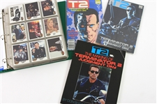 1980s-90s Terminator 2 Batman The Rocketeer Trading Cards & Comic Book Collection - Lot of 500+