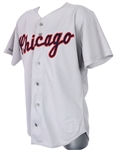 1989 Melido Perez Chicago White Sox Game Worn Road Jersey (MEARS LOA)