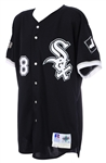 1997 Albert Belle Chicago White Sox Game Worn Alternate Jersey (MEARS A10)