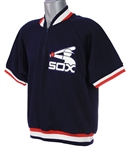 1984 Greg Luzinski Chicago White Sox Signed Batting Practice Pullover (MEARS LOA/JSA)