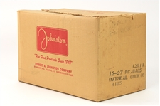 1950s Johnston Cookies Product Case (Original Home For the 1953-1955 Johnston Cookie Cards)