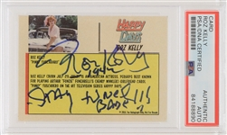 2019 Roz Kelly Pinky Tuscadero Happy Days Signed Trading Card (PSA Slabbed)