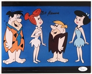 "1990s William Hanna Signed 8"" x 10"" Flintstones Photo (*JSA*)"
