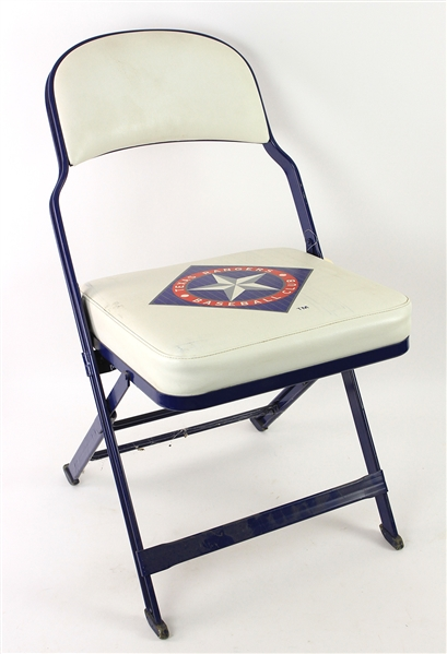 1994-2002 Texas Rangers Ballpark in Arlington Clubhouse Chair (MEARS LOA)